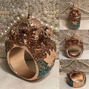 🔆 Aladdin castle Disney ring